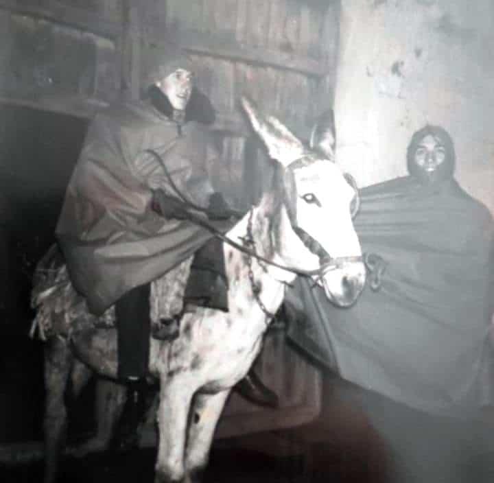 chubasquero - La Ruta del Quijote en burro