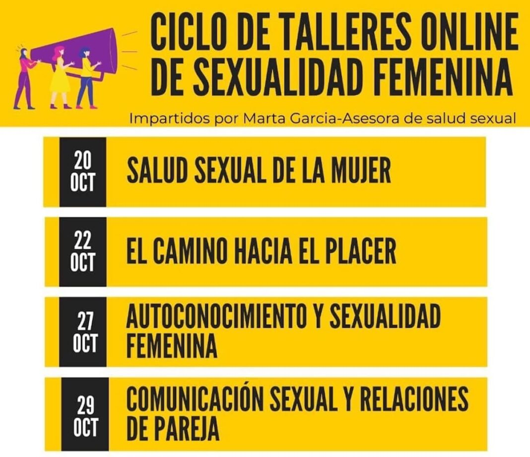 ciclo talleres online sexualidad online 2 1068x922 - Ciclo de Talleres online sobre sexualidad femenina en Herencia