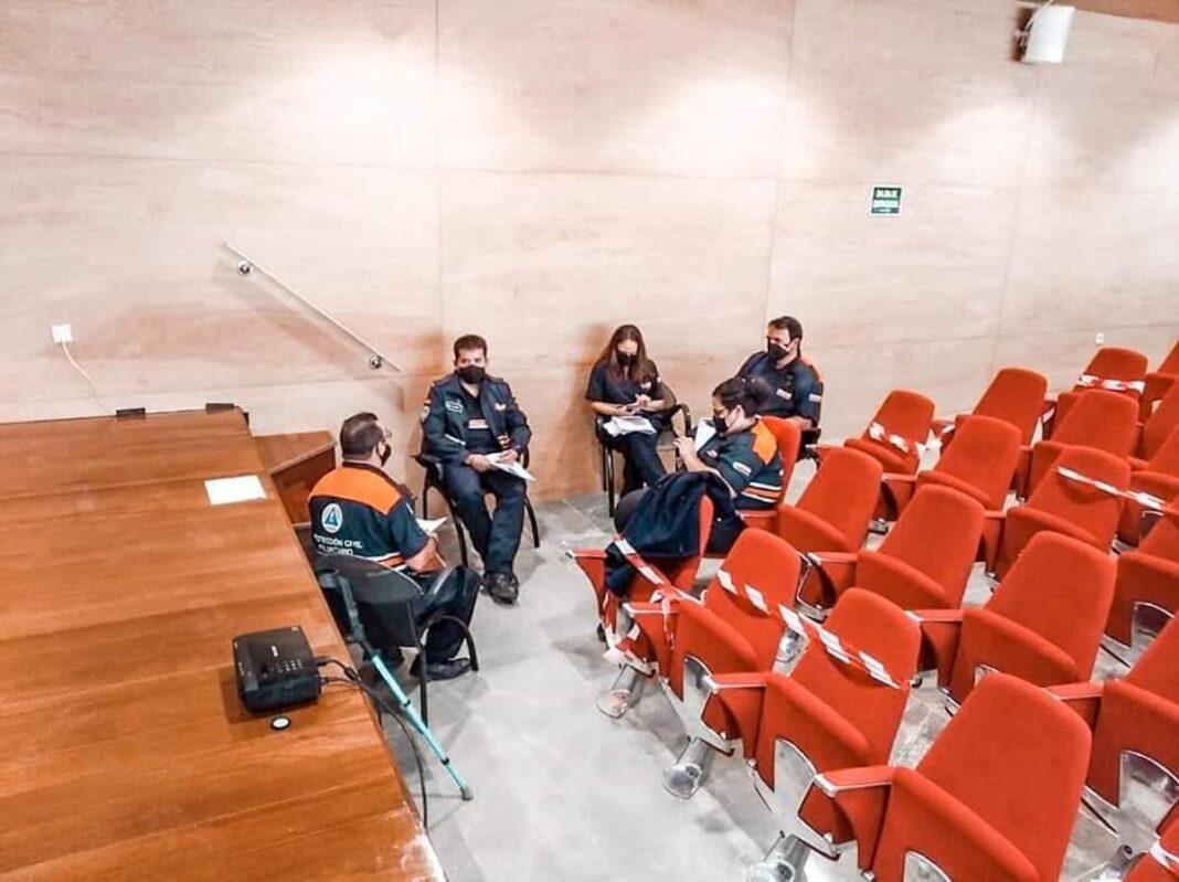 formacion proteccion civil herencia 2 1068x799 - Protección Civil de Herencia continua su formación para mejorar su servicio