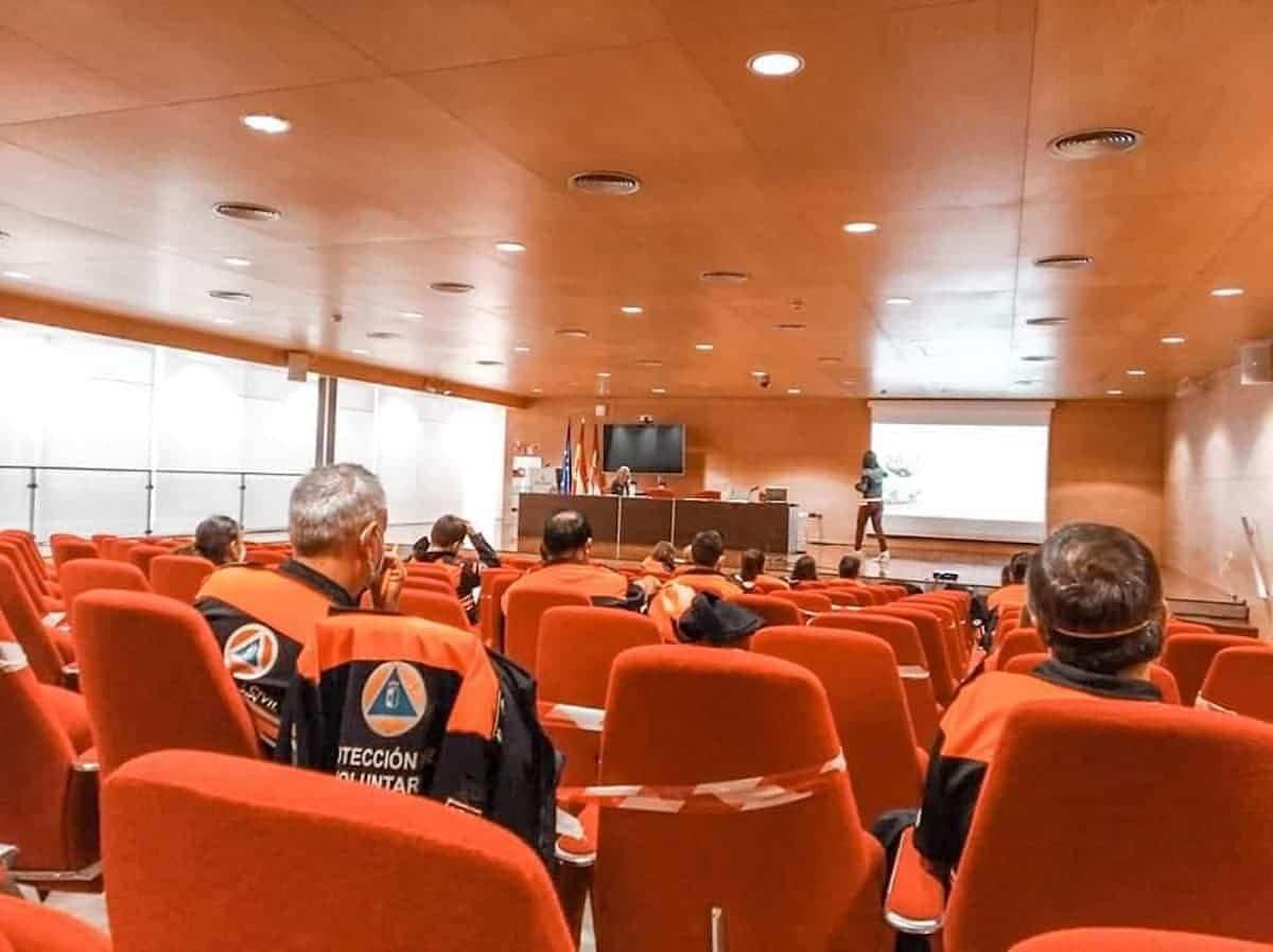 Protección Civil de Herencia continua su formación para mejorar su servicio 8