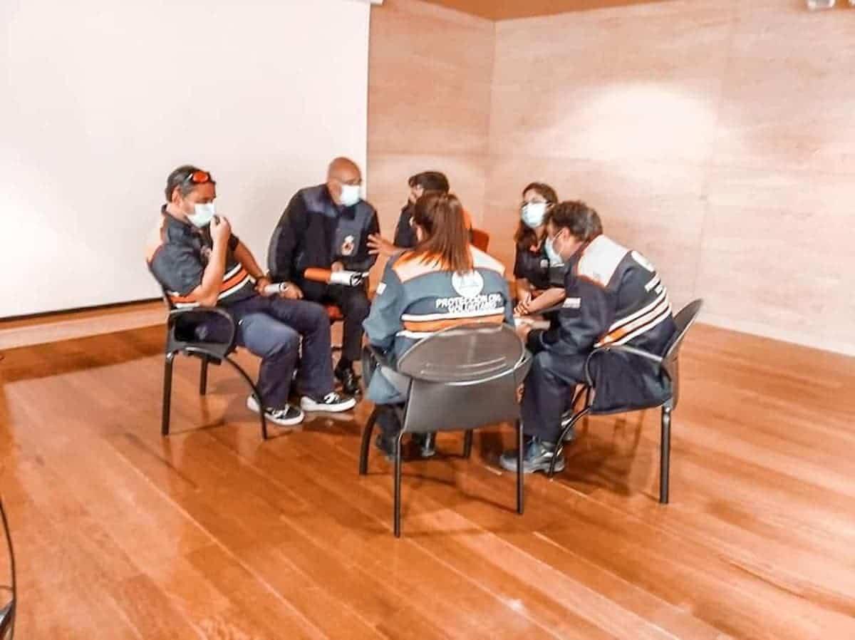 formacion proteccion civil herencia 4 - Protección Civil de Herencia continua su formación para mejorar su servicio