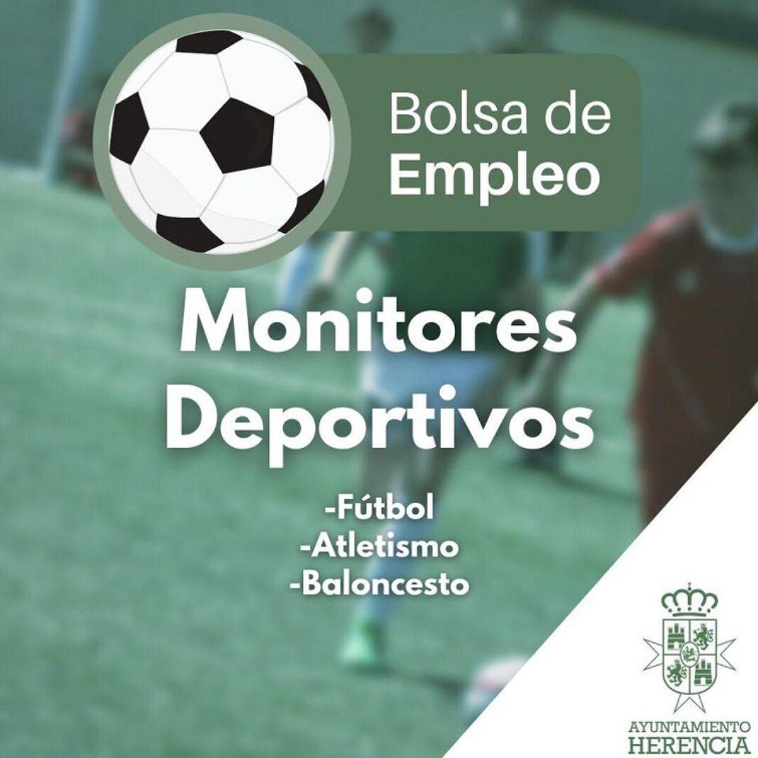 Convocadas en Herencia tres bolsas de trabajo para monitores y monitoras deportivas 1