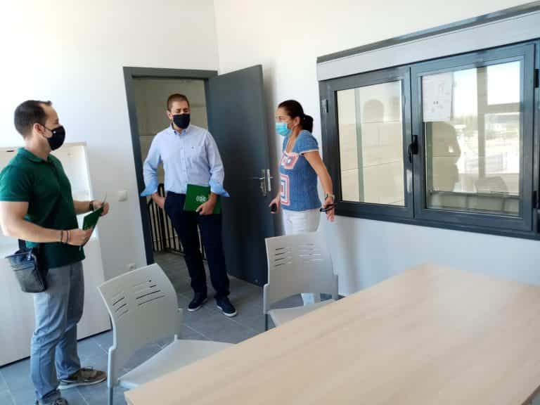 Terminan las obras de las nuevas naves del Vivero de Empresas de Herencia 5