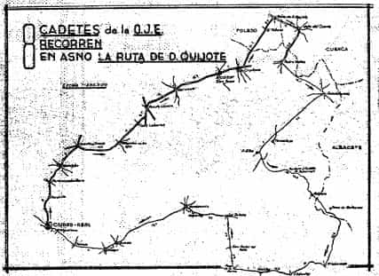 La Ruta del Quijote en burro 5