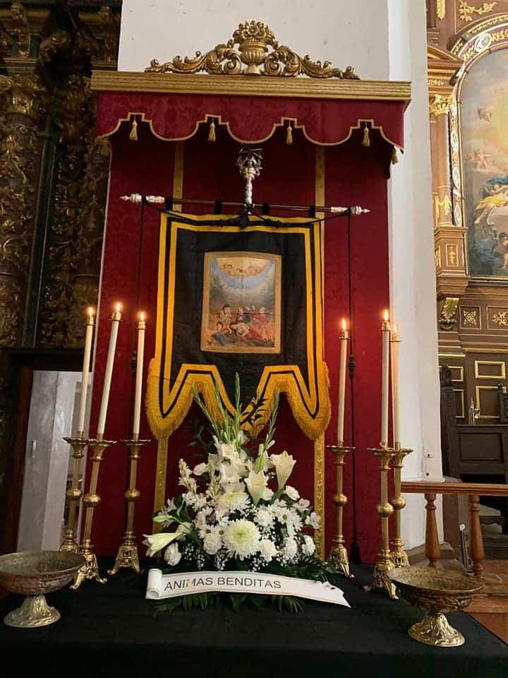 Altar de animas - Celebración del Rosario de Ánimas y otras actividades del mes de las ánimas en Herencia