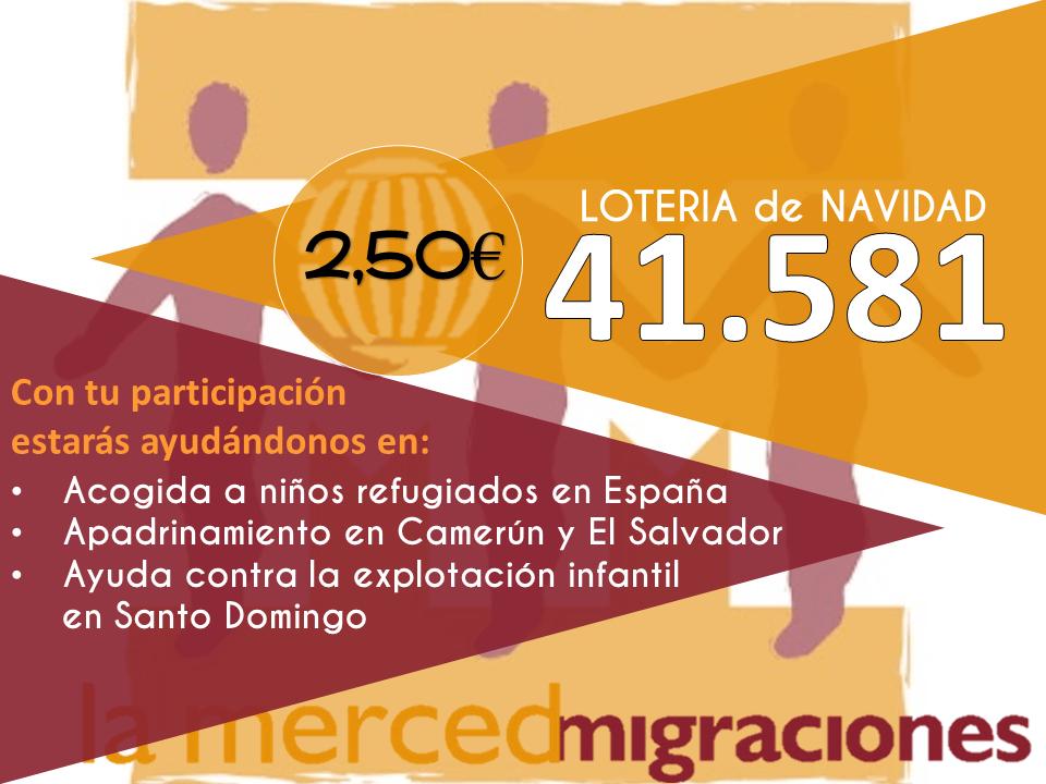 Participa de forma solidaria con la fundación La Merced Migraciones 3