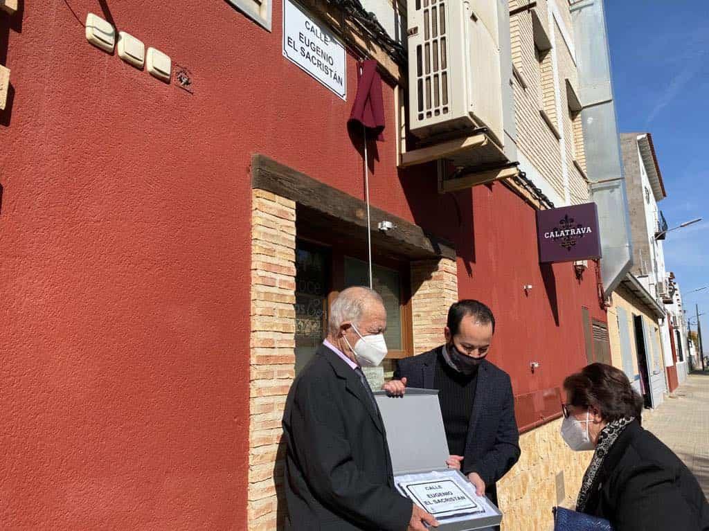 """Una calle de Herencia en homenaje a la persona de Eugenio """"El Sacristán"""" 9"""