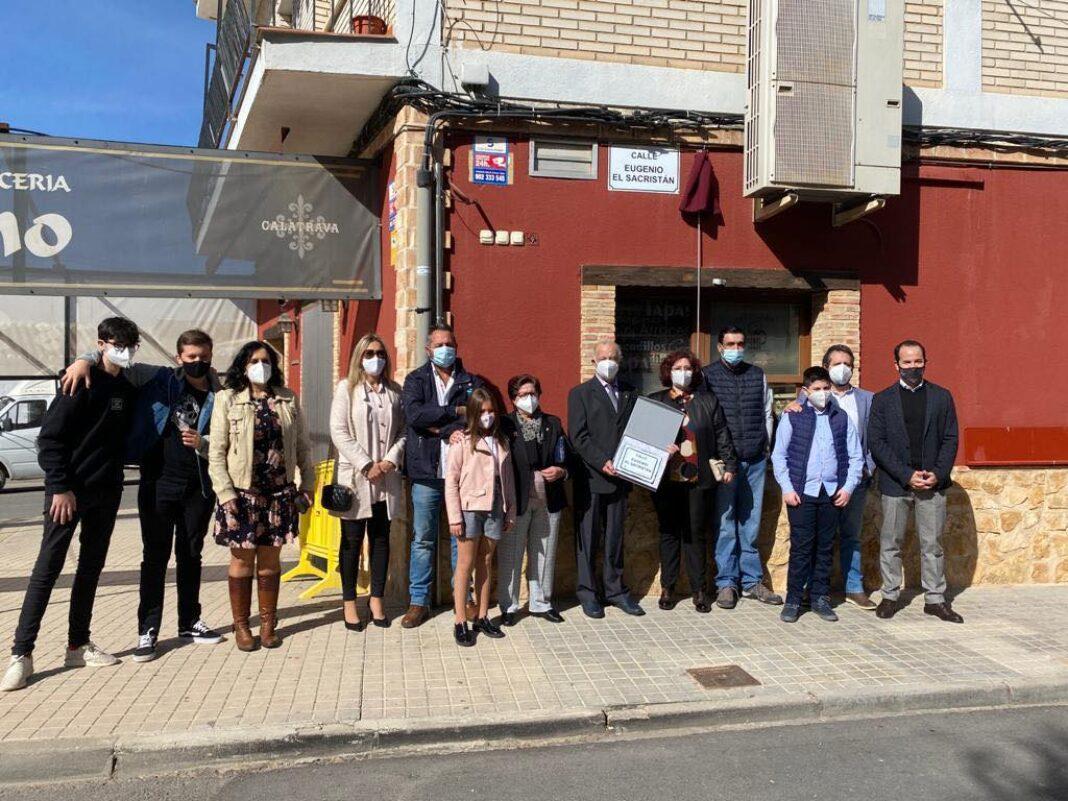 """Una calle de Herencia en homenaje a la persona de Eugenio """"El Sacristán"""" 13"""