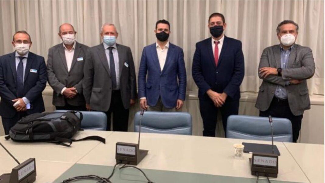 Imagen de la reunion 1068x600 - José Manuel Bolaños se reúne con representantes de Cooperativas Agroalimentarias