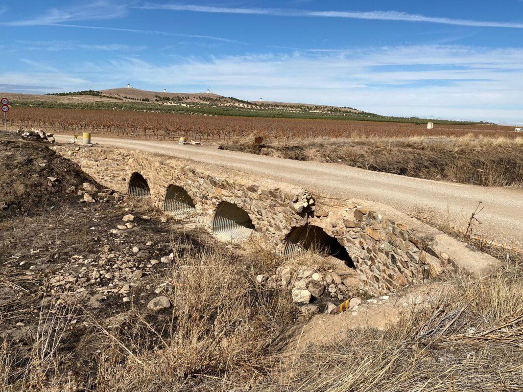 """Puente Valdespino 1068x801 - El puente sobre el río Valdespino volverá a """"la vida"""" en el 2021"""