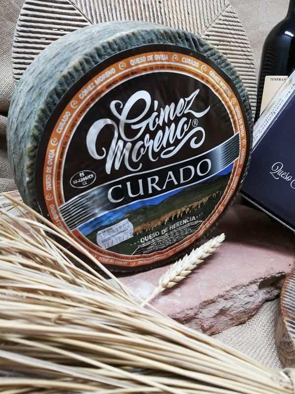Queso Corteza Natural Gomez Moreno - Quesos Gómez Moreno premiado en los Great Taste Awards 2020