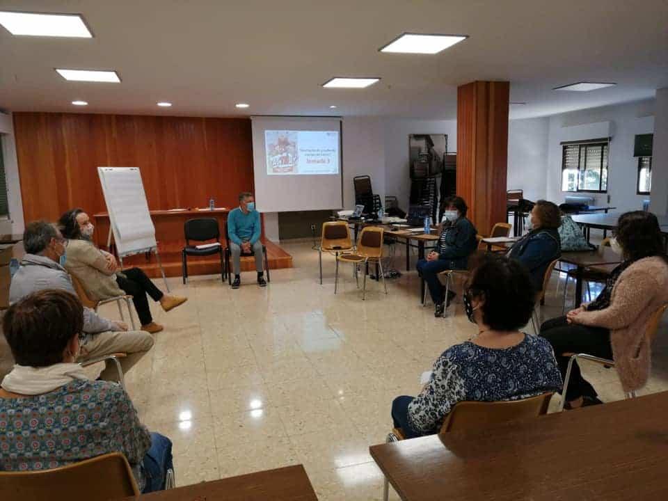 Miembros de Cáritas Parroquial Herencia participan en los cursos de formación diocesana de Cáritas 8