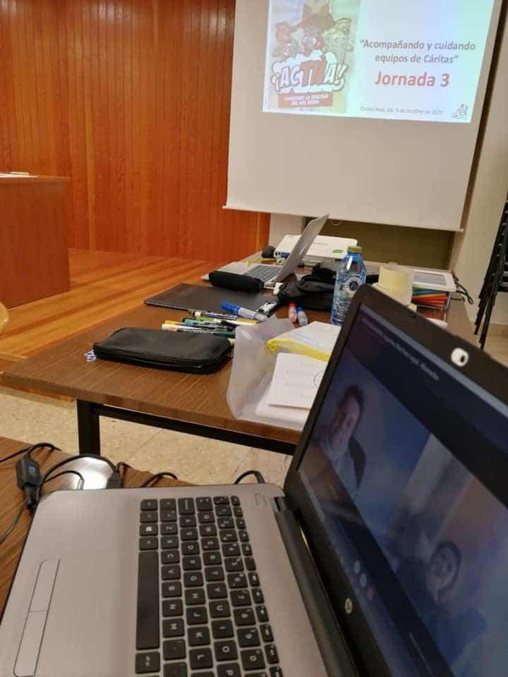 Miembros de Cáritas Parroquial Herencia participan en los cursos de formación diocesana de Cáritas 9