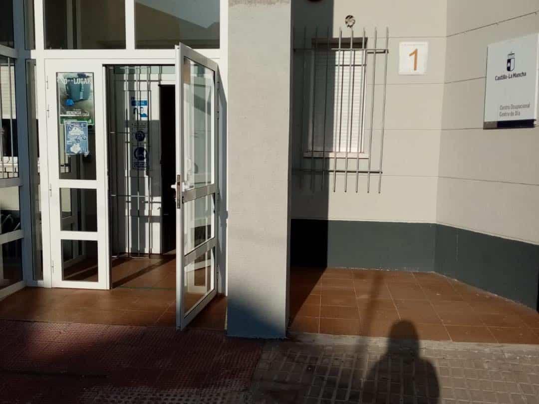 """entrada centro ocupacional dia el picazuelo herencia - Inicio del curso en el Centro Ocupacional y de Día """"El Picazuelo"""" con máxima seguridad"""