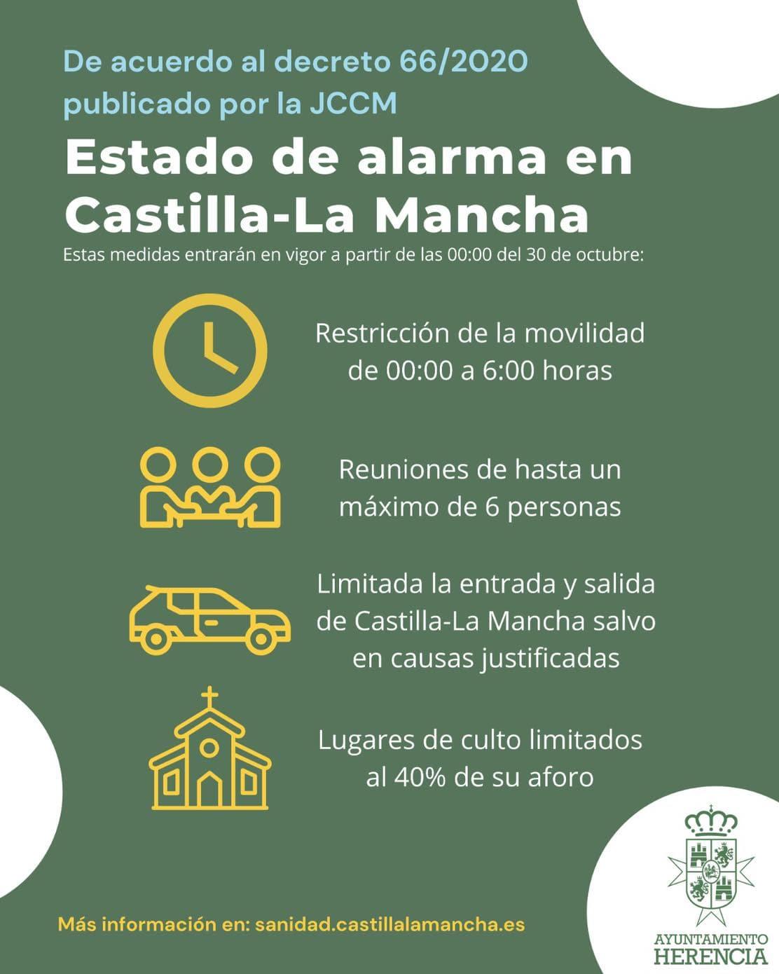 Medidas clave del Estado de Alarma en Castilla-La Mancha 3
