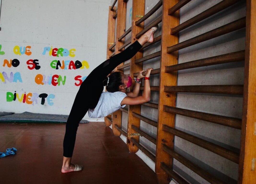 gimnasia ritmica online herencia 1 1068x770 - Herencia participa en el Campeonato Provincial de Gimnasia Rítmica online