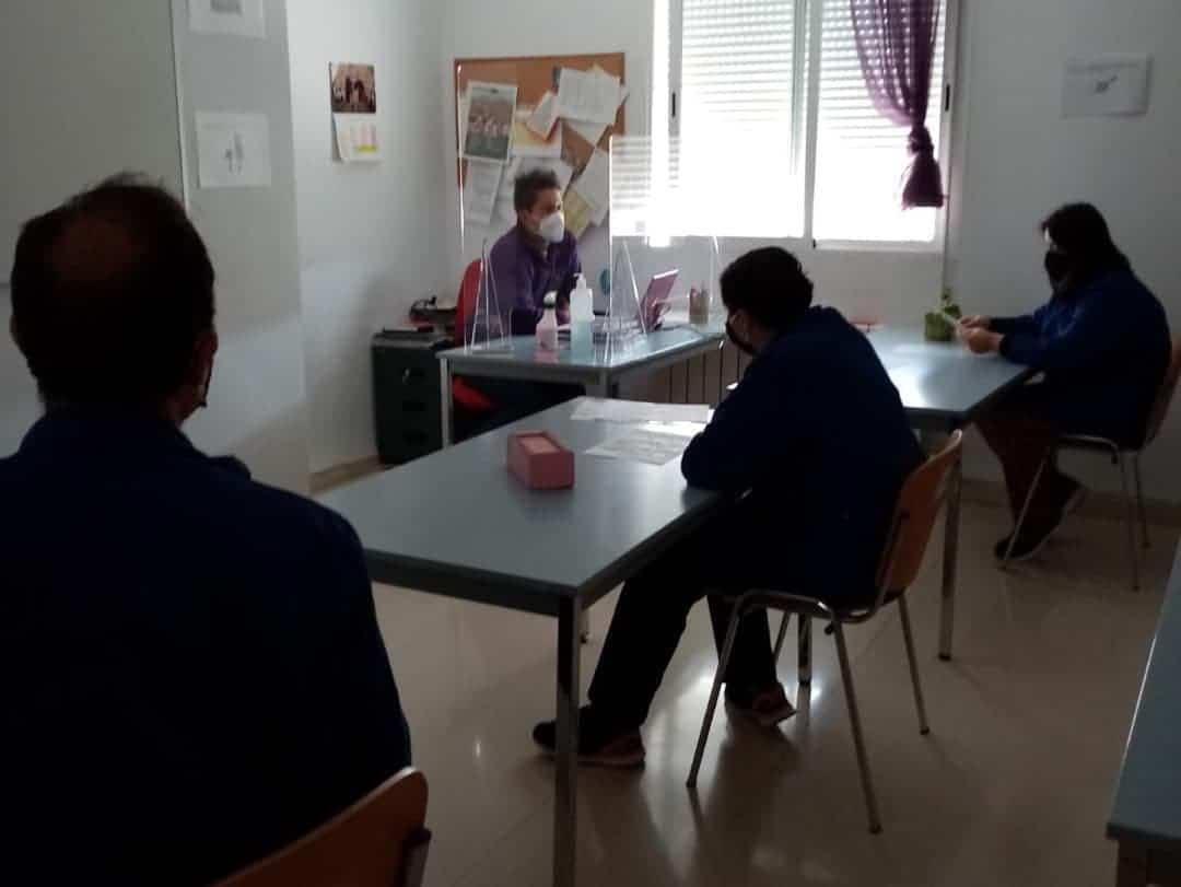 """inicio curso covid 19 el picazuelo herencia 1 - Inicio del curso en el Centro Ocupacional y de Día """"El Picazuelo"""" con máxima seguridad"""