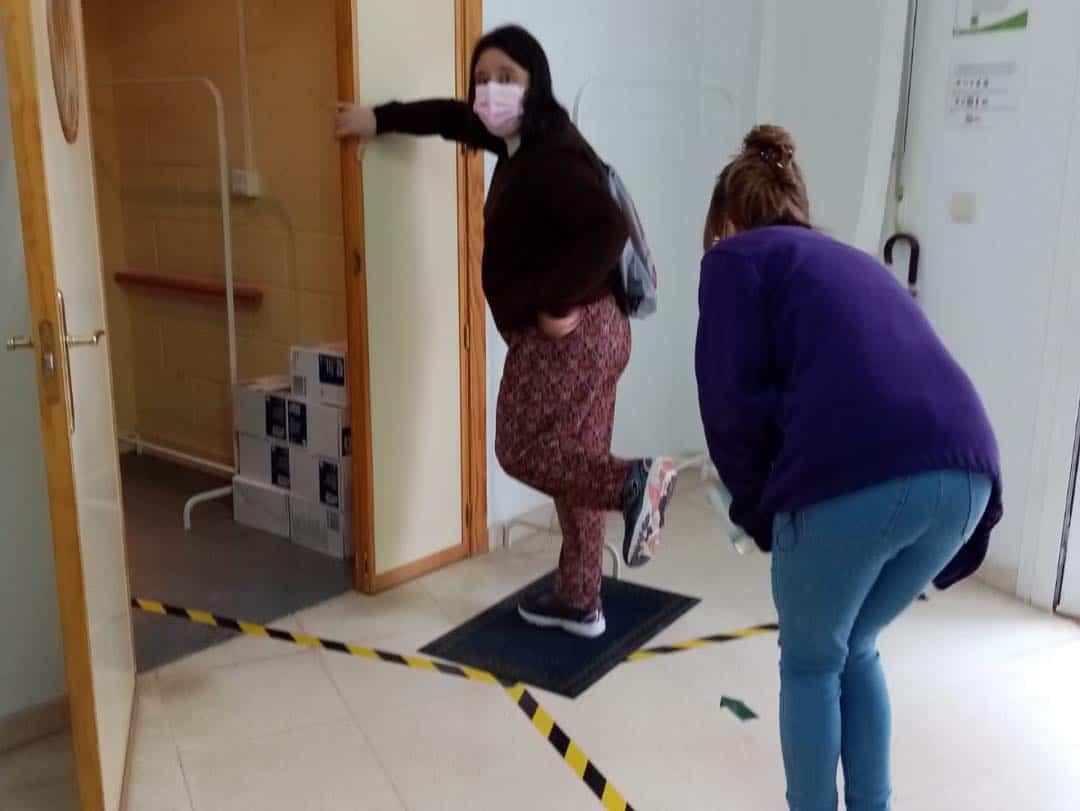 """Inicio del curso en el Centro Ocupacional y de Día """"El Picazuelo"""" con máxima seguridad 16"""
