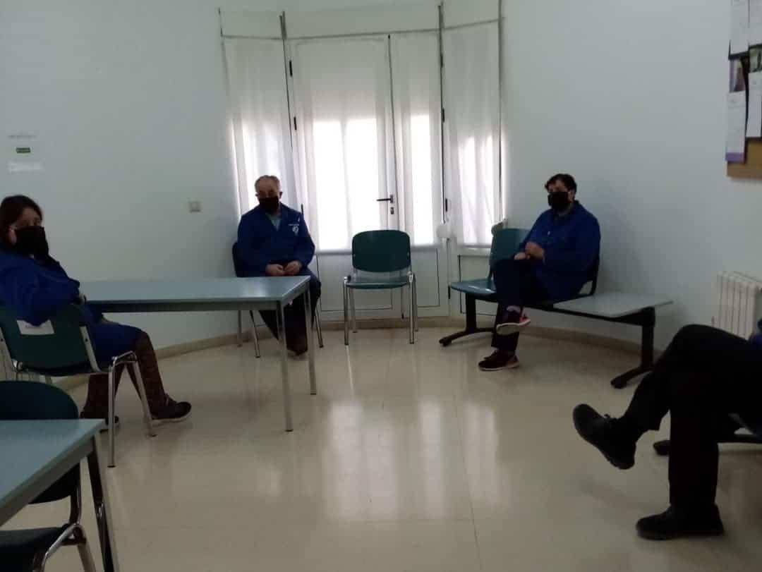 """inicio curso covid 19 el picazuelo herencia 5 - Inicio del curso en el Centro Ocupacional y de Día """"El Picazuelo"""" con máxima seguridad"""
