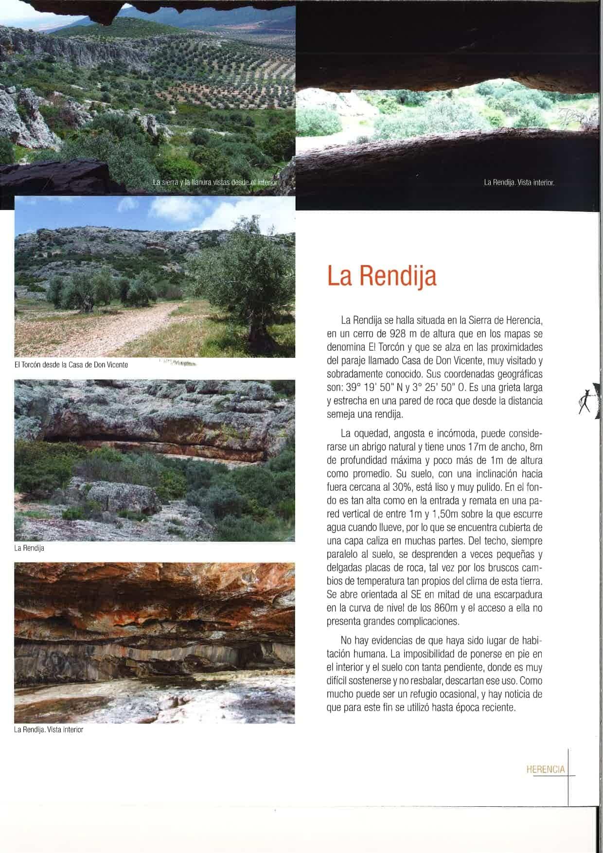"""la rendija herencia page 0002 - Herencia celebró el Día Europeo del Arte Rupestre con """"La Rendija"""""""
