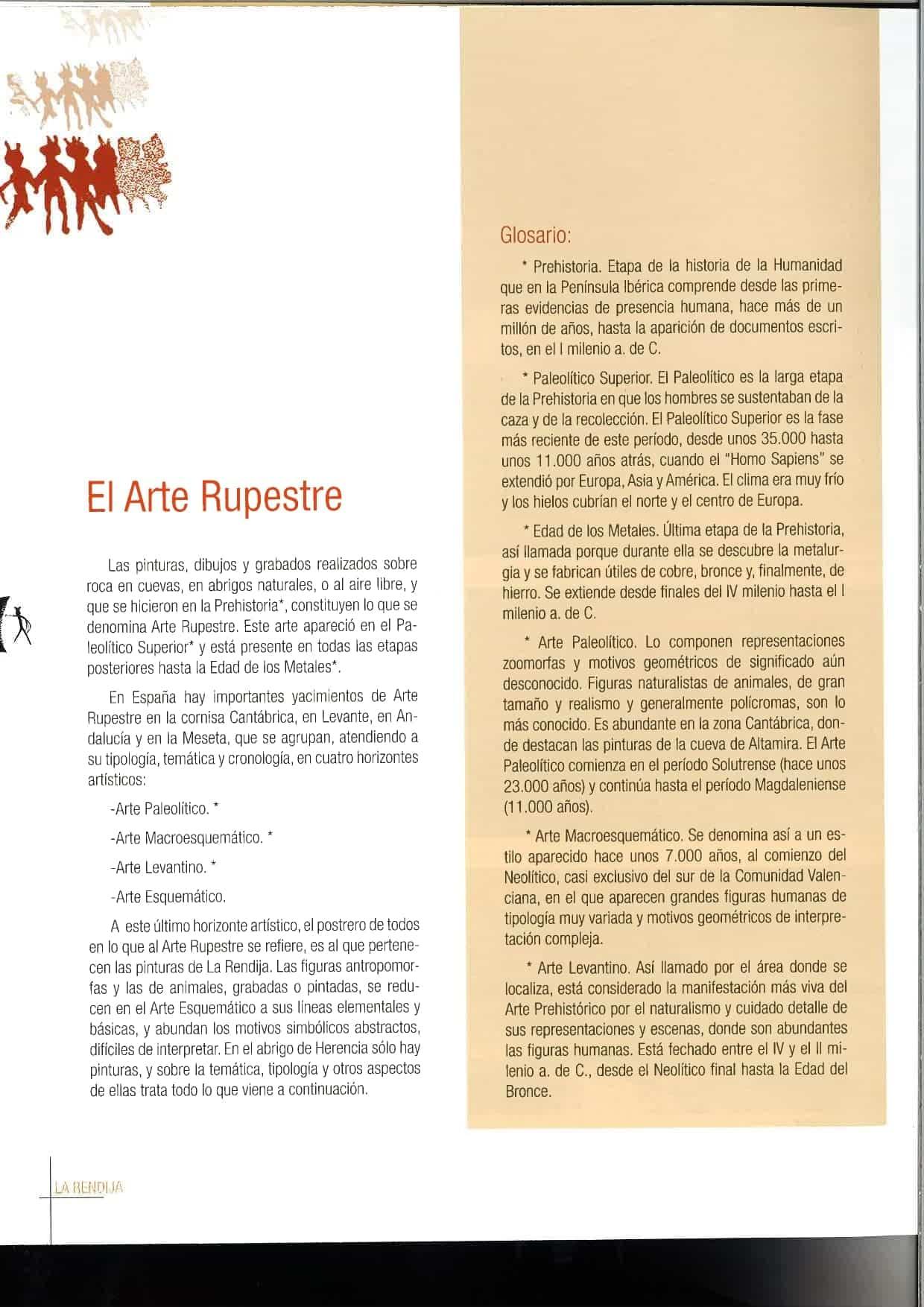 """la rendija herencia page 0003 - Herencia celebró el Día Europeo del Arte Rupestre con """"La Rendija"""""""