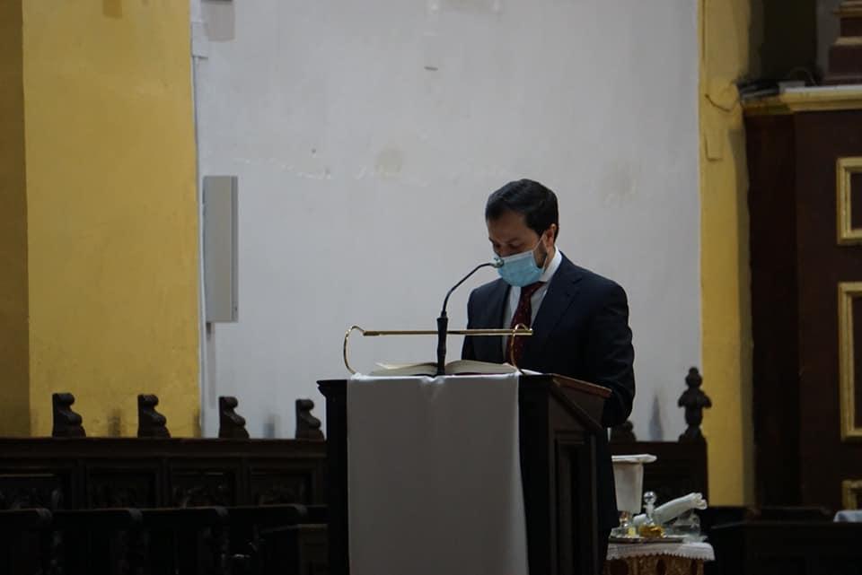 Abogados del partido judicial de Alcázar celebran a su patrona con una misa en la parroquia de Herencia 10