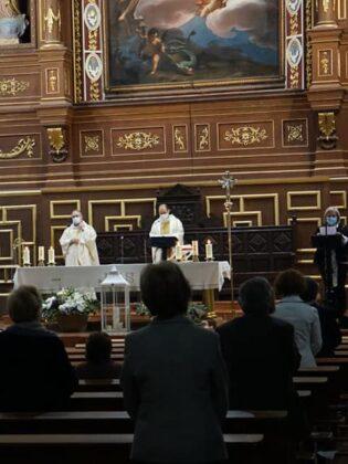 Abogados del partido judicial de Alcázar celebran a su patrona con una misa en la parroquia de Herencia 20