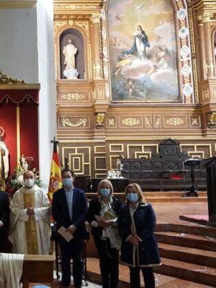 Abogados del partido judicial de Alcázar celebran a su patrona con una misa en la parroquia de Herencia 18