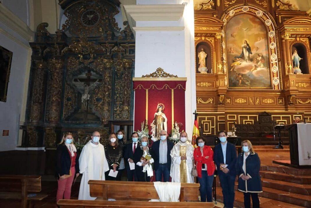 Abogados del partido judicial de Alcázar celebran a su patrona con una misa en la parroquia de Herencia 24