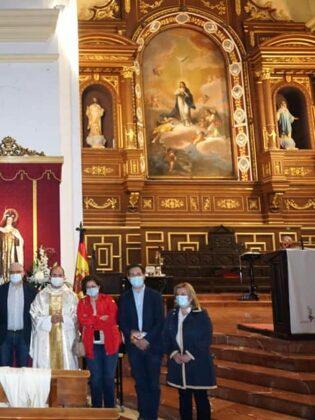 Abogados del partido judicial de Alcázar celebran a su patrona con una misa en la parroquia de Herencia 16