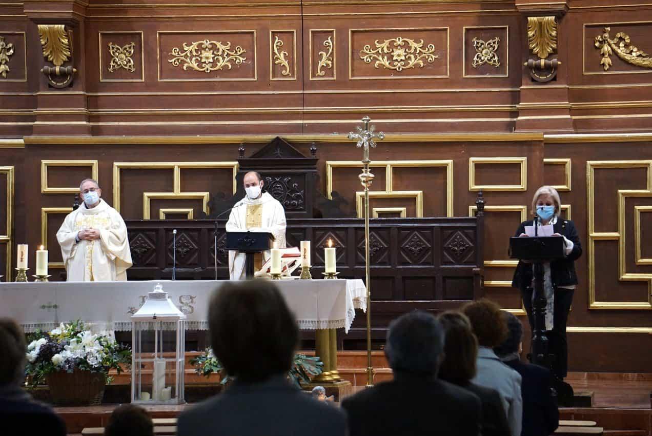 Abogados del partido judicial de Alcázar celebran a su patrona con una misa en la parroquia de Herencia 9