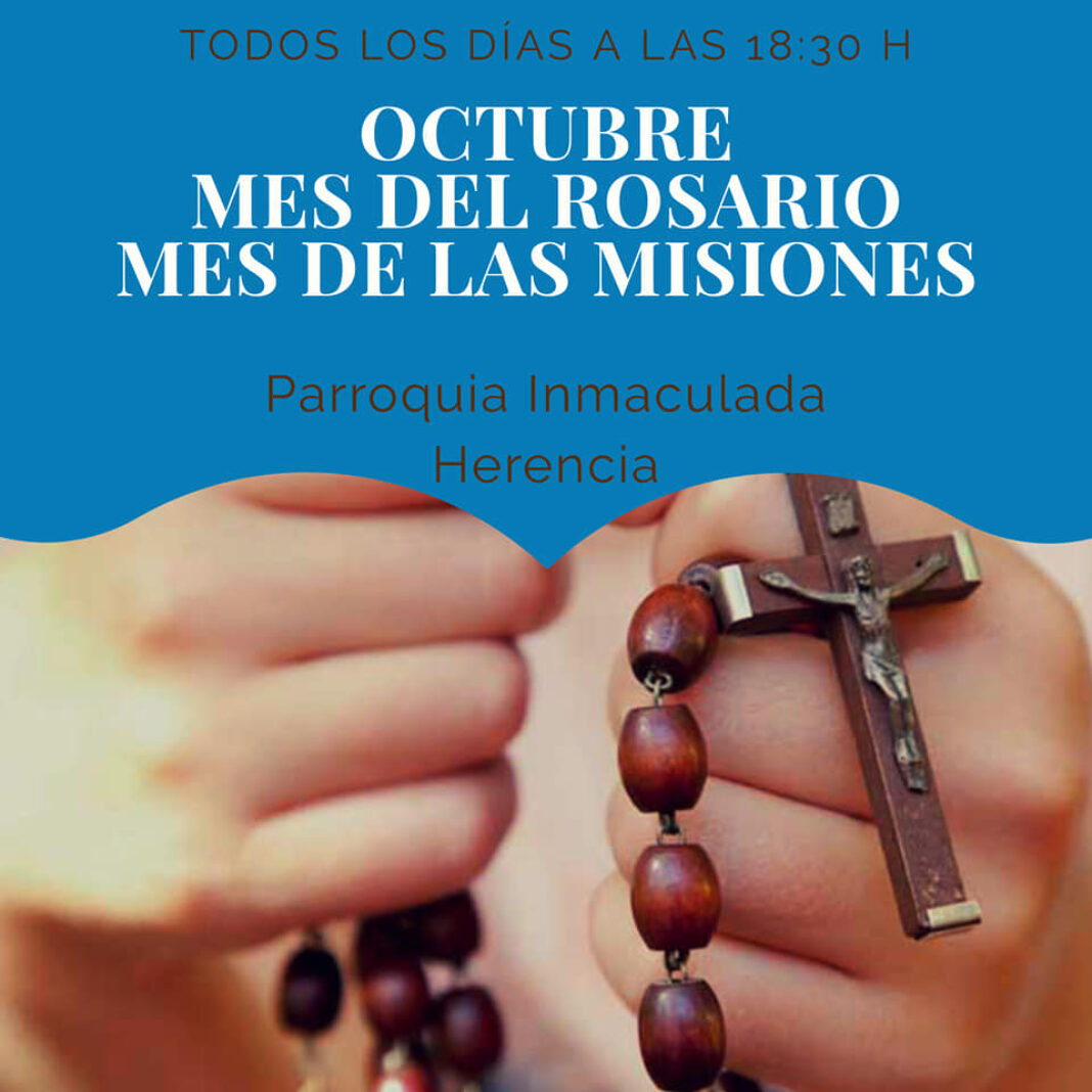 Octubre, mes dedicado al rosario y las misiones en el templo parroquial y el convento 4