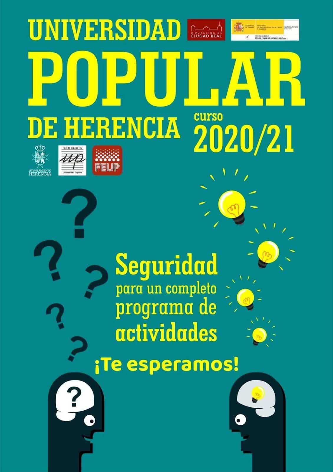 La Universidad Popular de Herencia arranca una nueva edición con ilusión y esfuerzo 9
