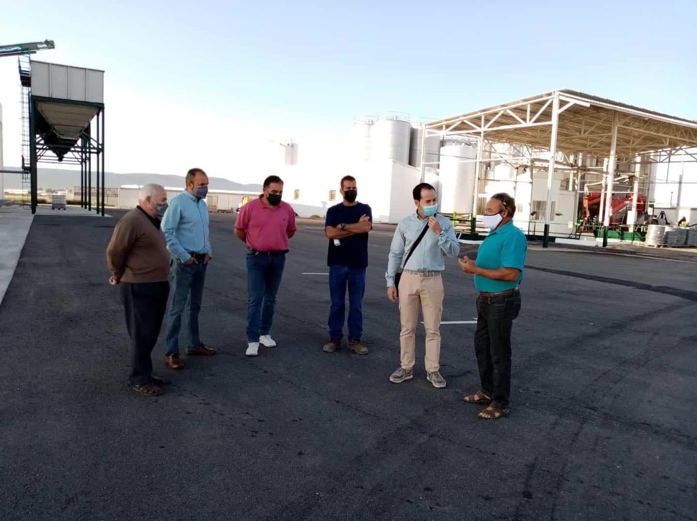 visita a la cooperativa La Encarnacion Grupo Montes Norte de Herencia2 - Recta final de la campaña de vendimia en Herencia