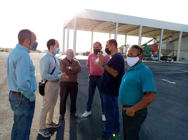 visita a la cooperativa La Encarnacion Grupo Montes Norte de Herencia3 - Recta final de la campaña de vendimia en Herencia