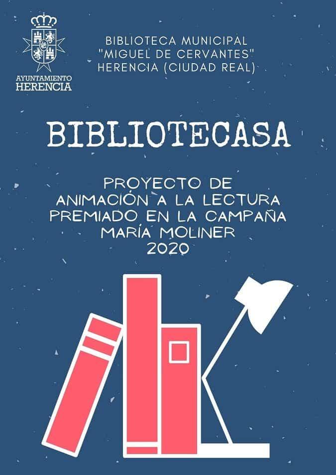 BIBLIOTECASA - La biblioteca de Herencia vuelve a ser reconocida en los premios María Moliner