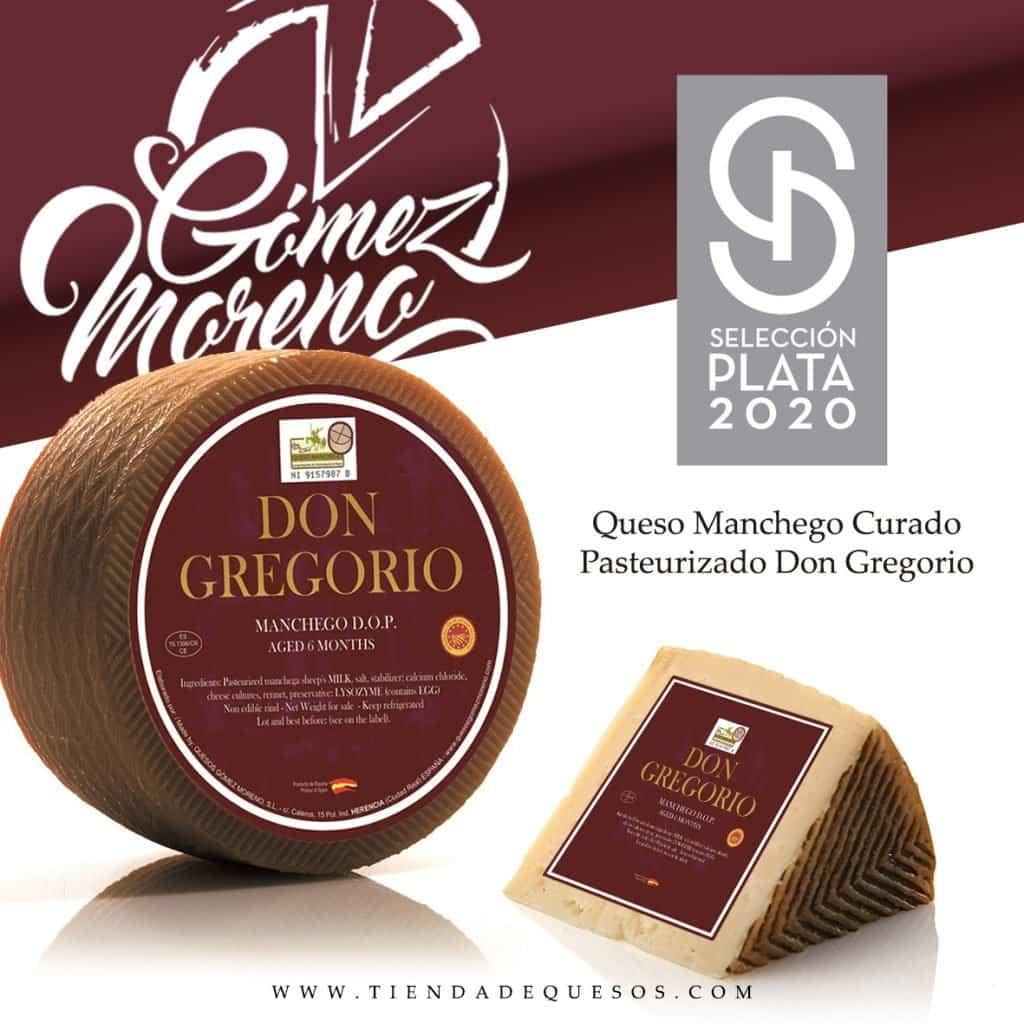 Queso Don Gregorio de Gómez Moreno, premio Gran Selección Plata 2020 6