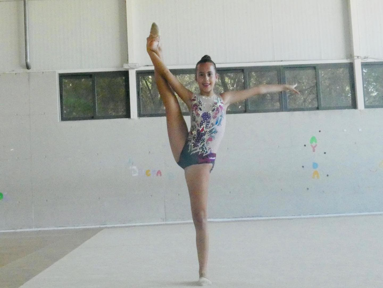 Herencia participó en el Campeonato Regional Individual de Gimnasia Rítmica 23