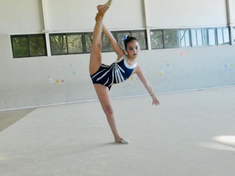 Herencia participó en el Campeonato Regional Individual de Gimnasia Rítmica 26