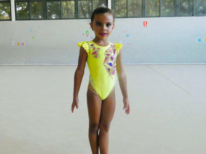 Herencia participó en el Campeonato Regional Individual de Gimnasia Rítmica 27