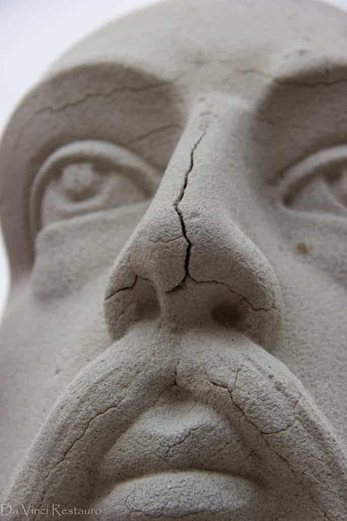 Restaurada la escultura de Cervantes como parte del patrimonio artístico herenciano 14