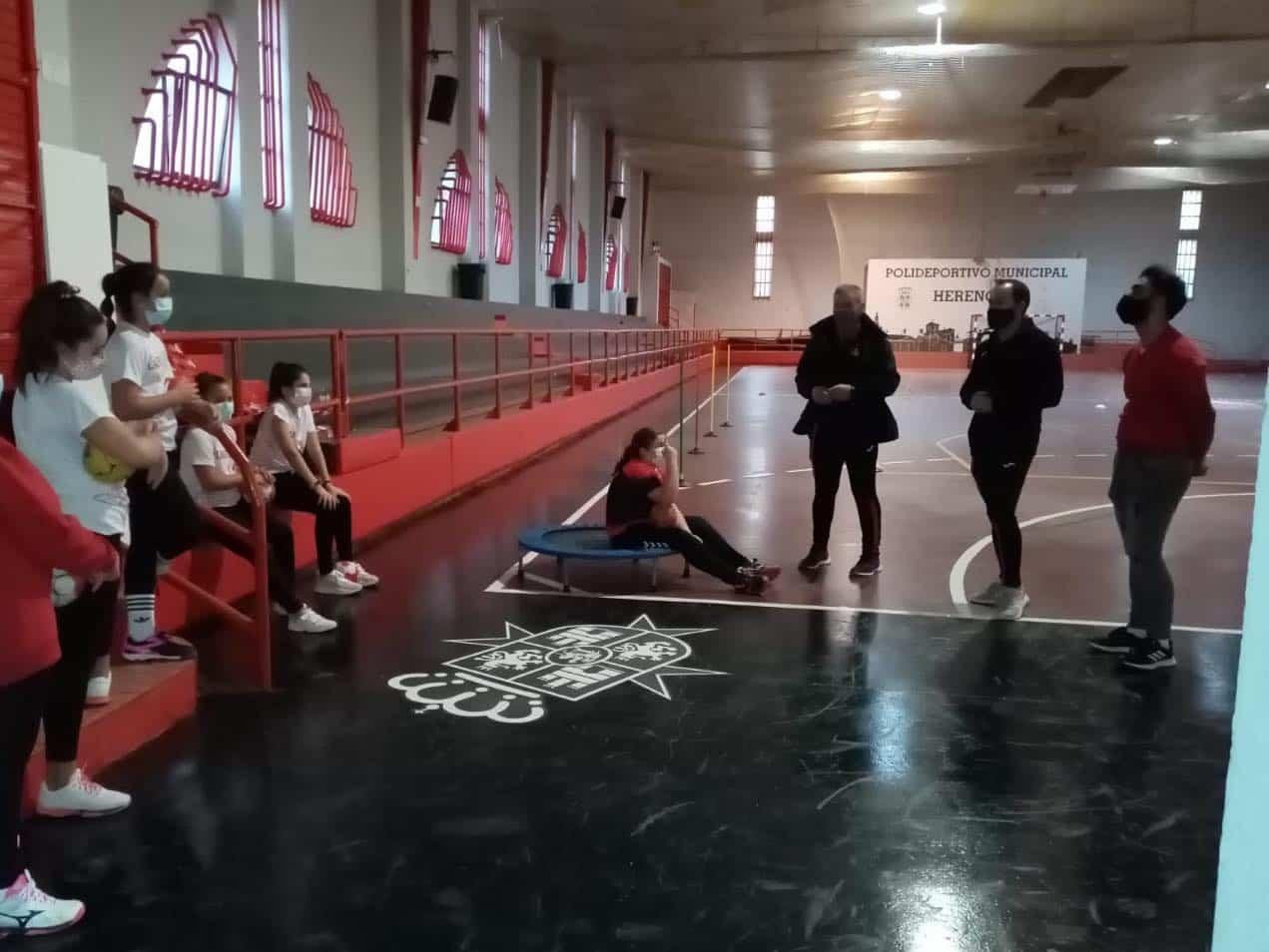 Conociendo las reapertura de las Escuelas Deportivas en Herencia 5