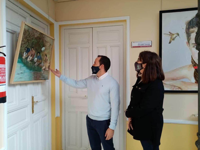 """18 trabajos presentados en el concurso de pintura """"En Clave de Mujer"""" 3"""