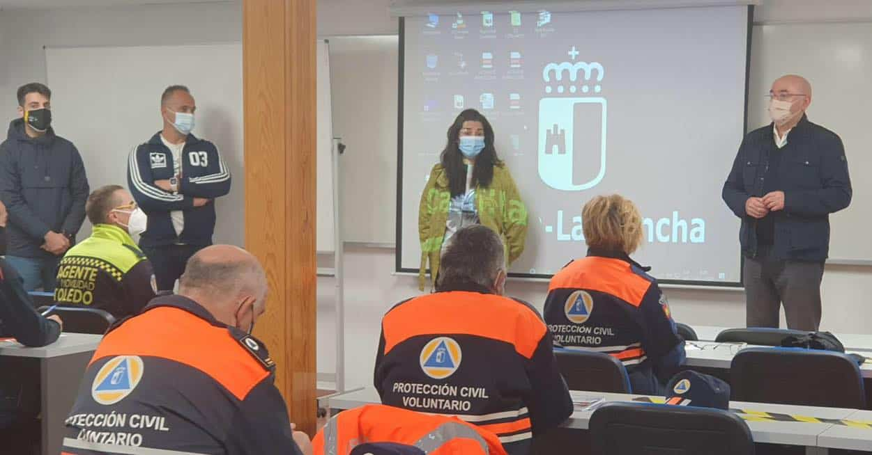 Protección Civil de Herencia continua su formación continua 6