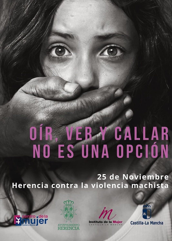 Herencia muestra su respulsa con actividades de sensibilización y prevención para combatir la Violencia Machista 7