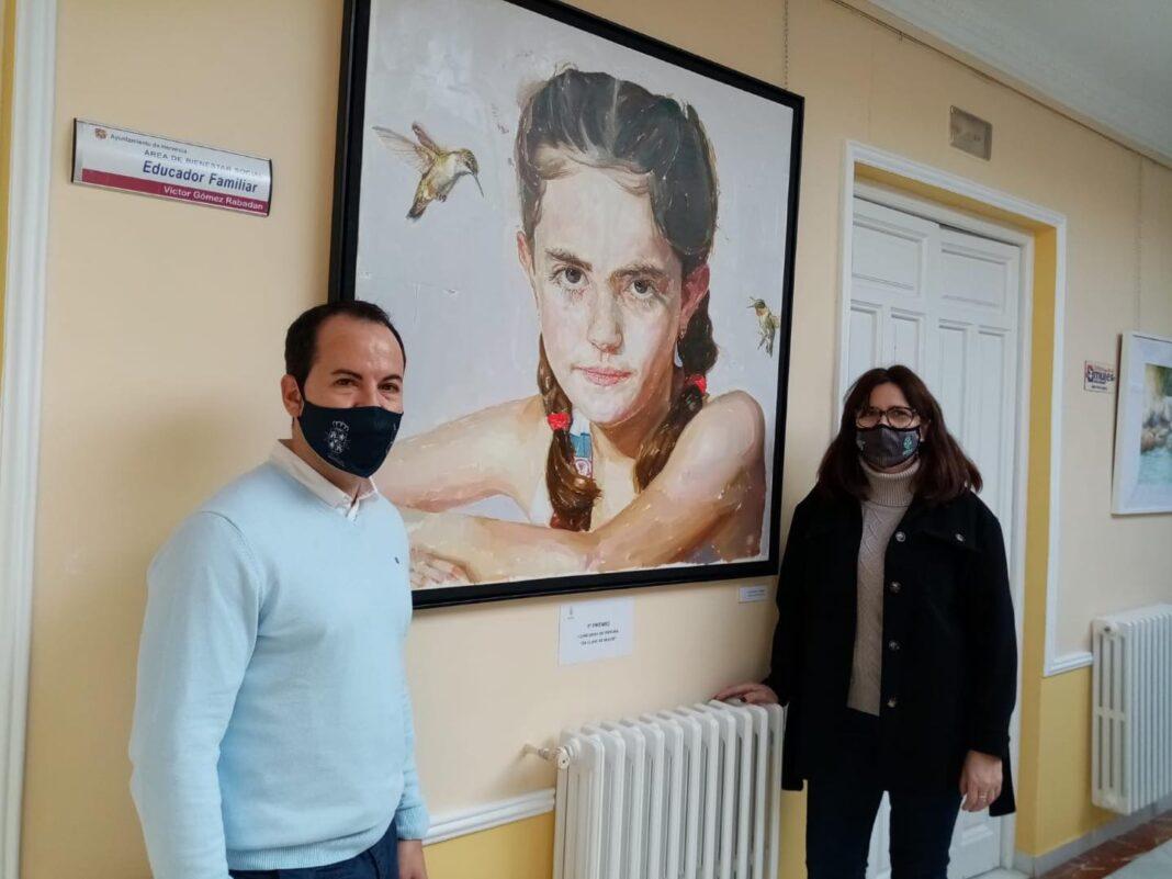 """18 trabajos presentados en el concurso de pintura """"En Clave de Mujer"""" 4"""