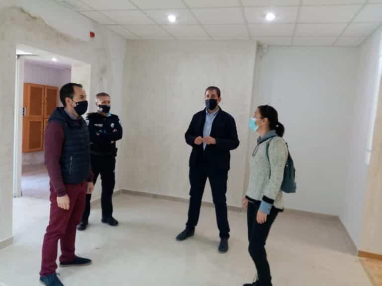 obras nuevas dependecias policia local1 - Policía local de Herencia contará con una nueva sede a principios de año