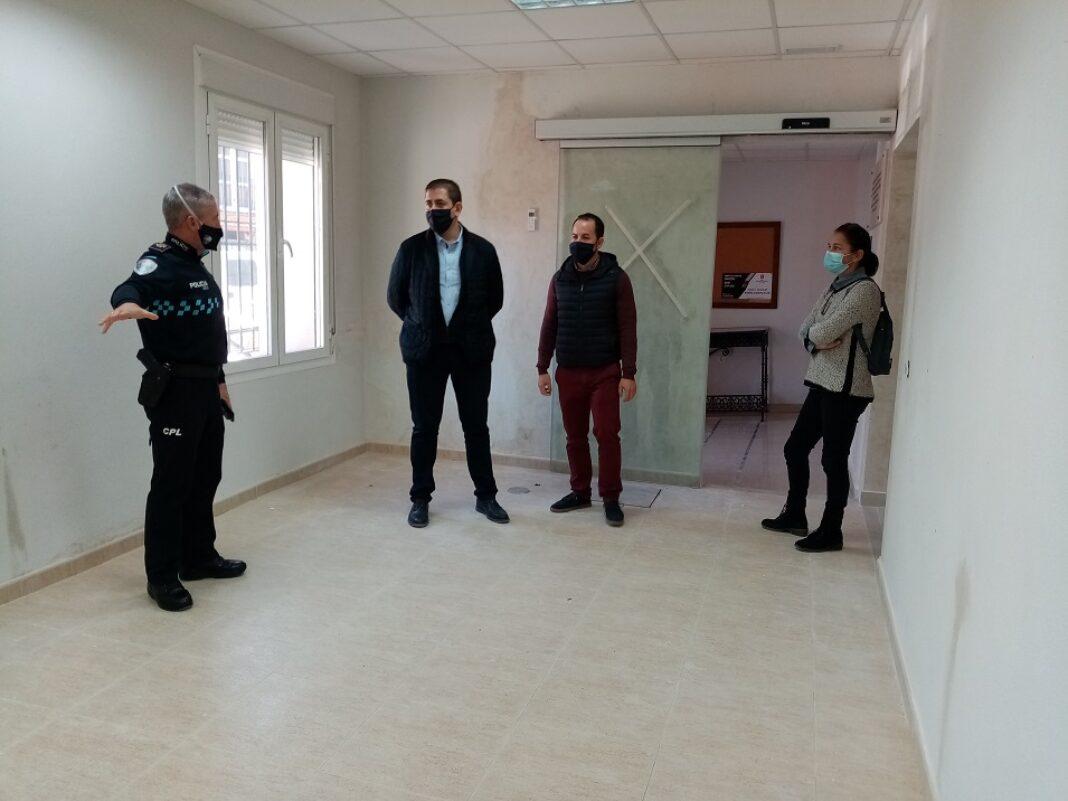 obras nuevas dependecias policia local3 1068x801 - Policía local de Herencia contará con una nueva sede a principios de año