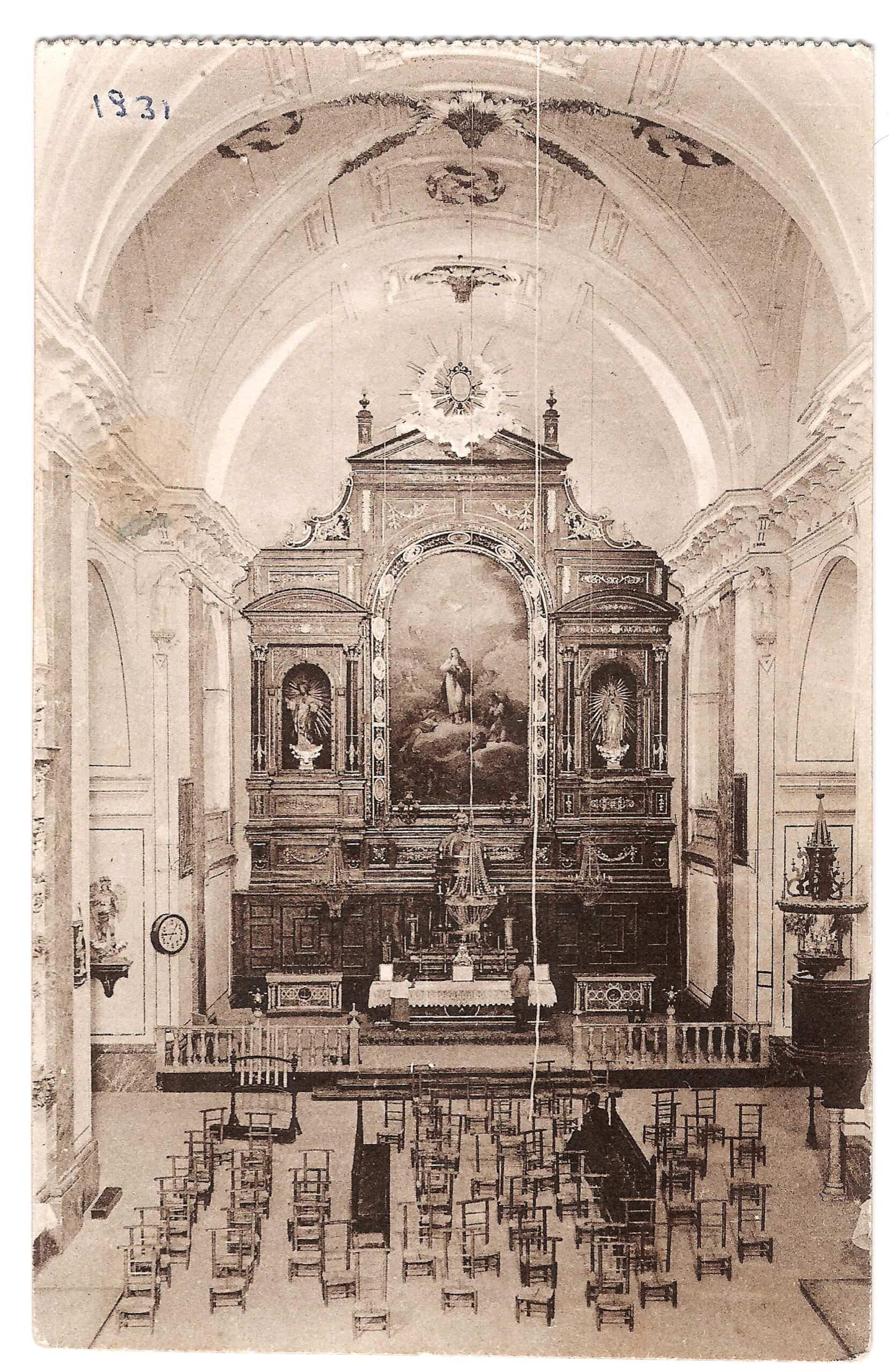 Conociendo Herencia: Retablo y lienzo de la Inmaculada Concepción 9