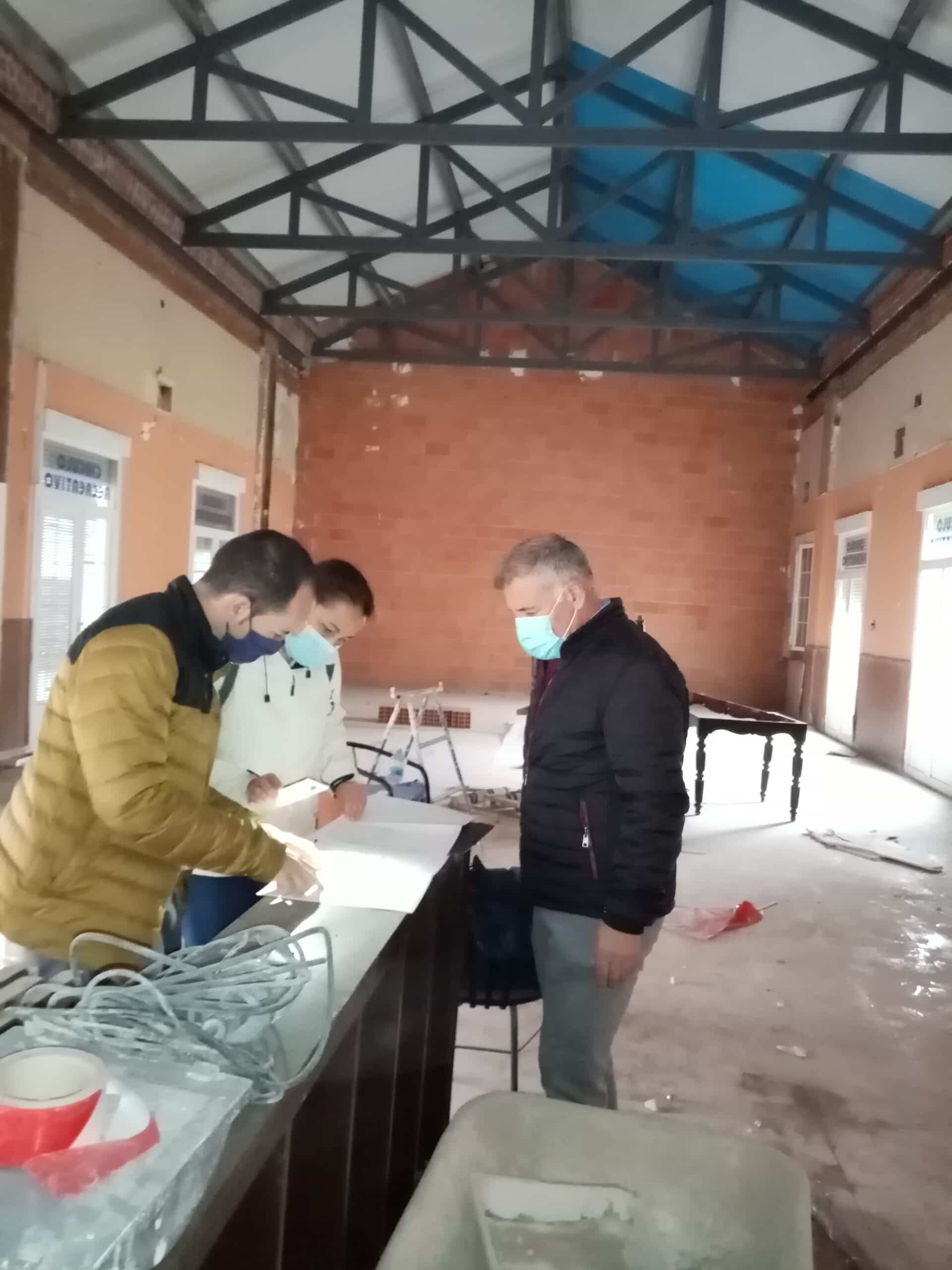 """El edificio municipal """"El Casino"""" comienza su intervención estructural y rehabilitación 6"""